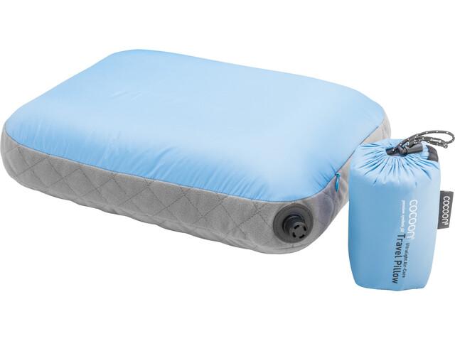 Cocoon Air Core Poduszka Ultralight Standard, light-blue/grey